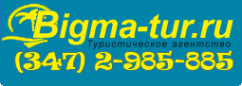 Логотип компании Bigma-tur
